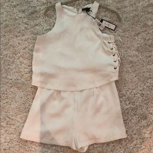 Romeo and Juliette Couture romper